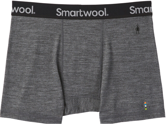 4faa71b9c1d646 Smartwool Merino Sport 150 Boxer Brief Men medium gray heather at ...
